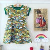 Kids Short Sleeve Skater Dress