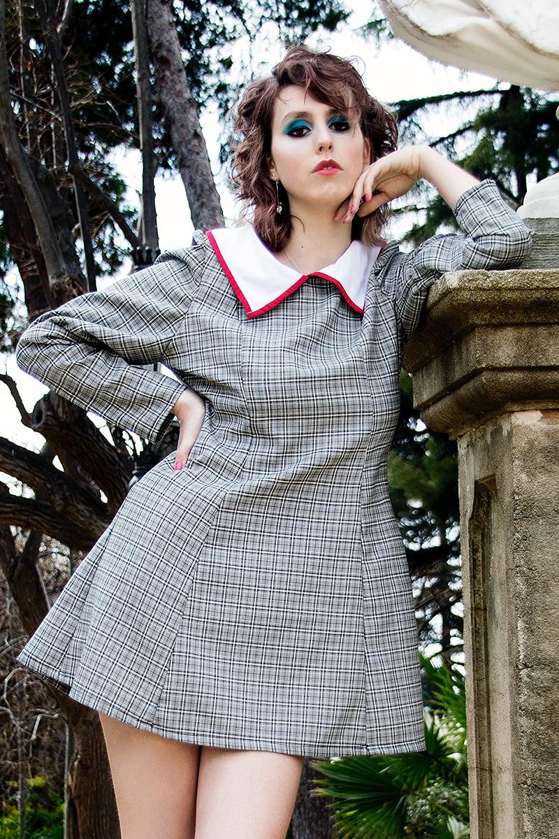 Image of Poppy Bi-to oxford Dress