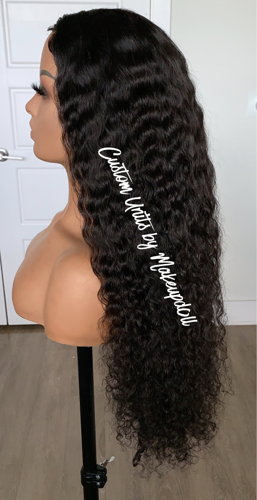"Image of RAW Indian Curly 30"" Lace Closure Wig!"