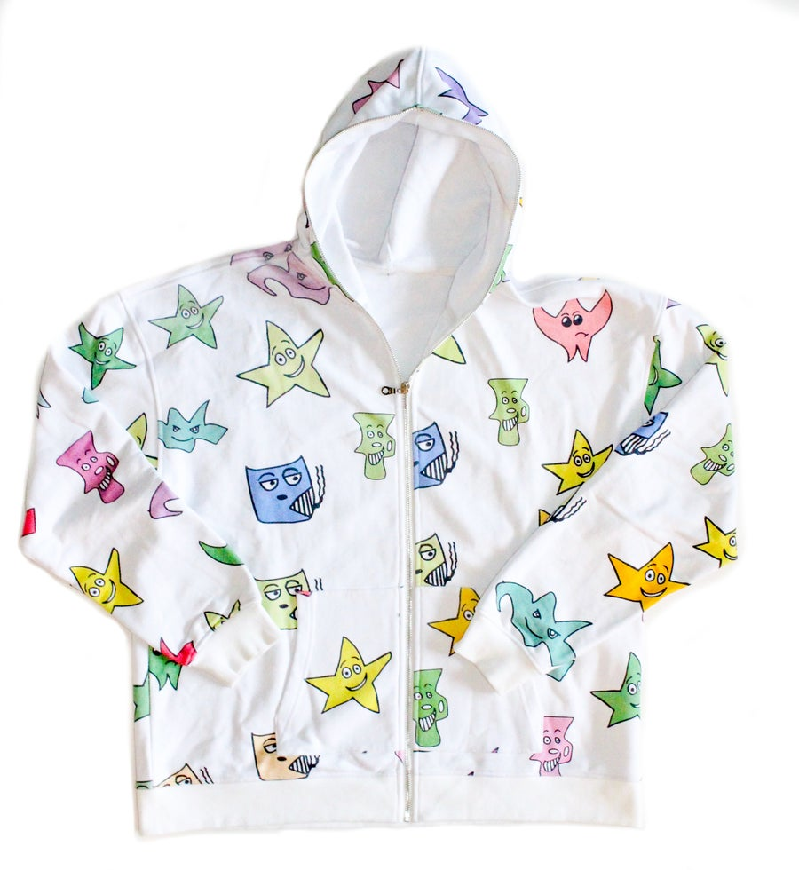 Image of Kindergarten Series All Over Print Full Zip Hoodie