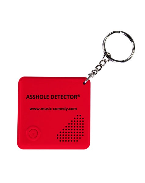 Image of ASSHOLE DETECTOR KEY CHAIN