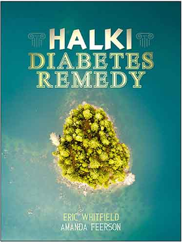 Image of Halki Diabetes Remedy by Eric Whitfield Book