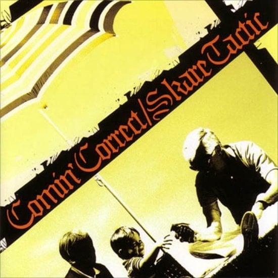 Image of Comin Correct vs Skare Tactic - Split CD