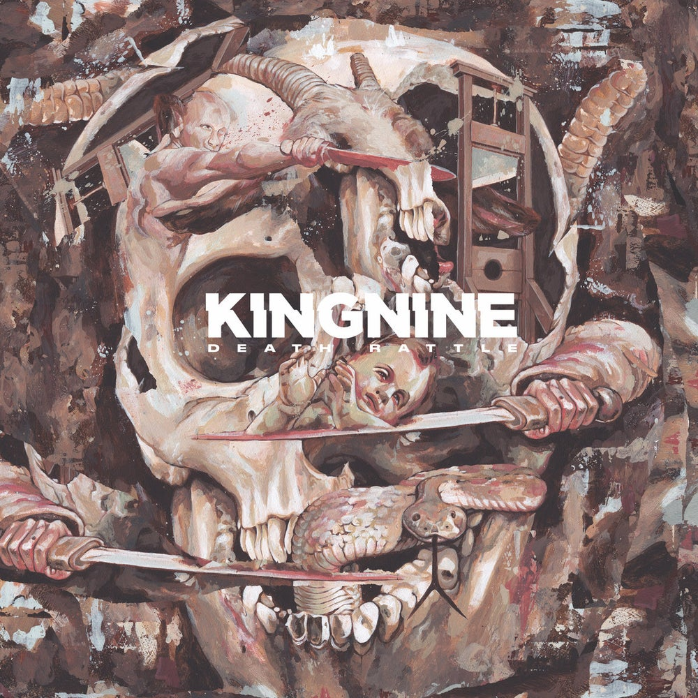 Image of King Nine - Death Rattle CD