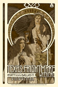 Image of TEXAS FRIGHTMARE WEEKEND 2019 ARTIST PROOF EDITION - 5 LEFT!