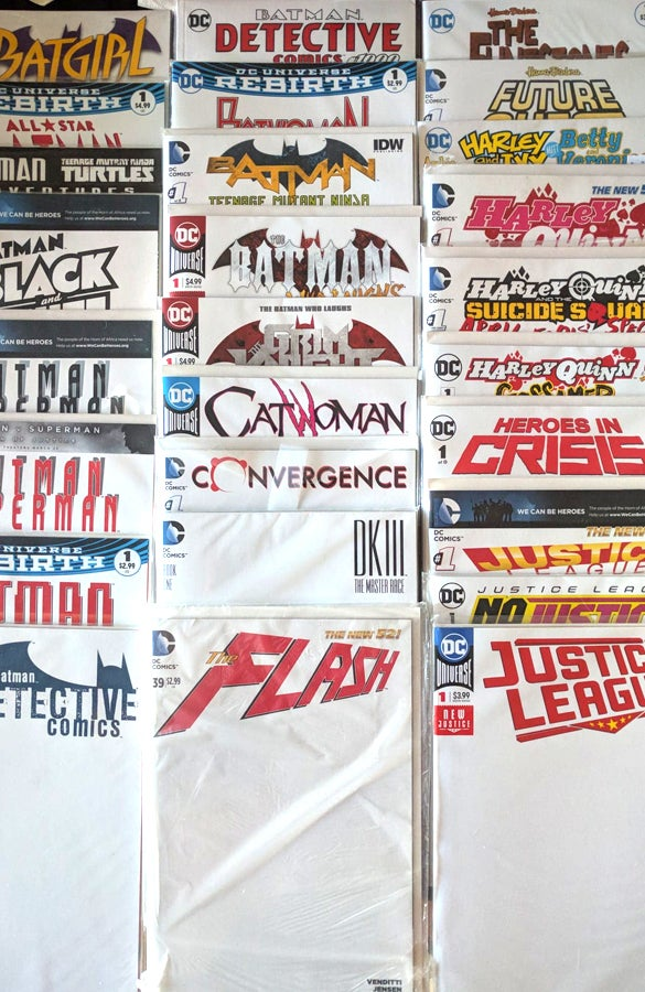 Image of Sketch Covers - DC