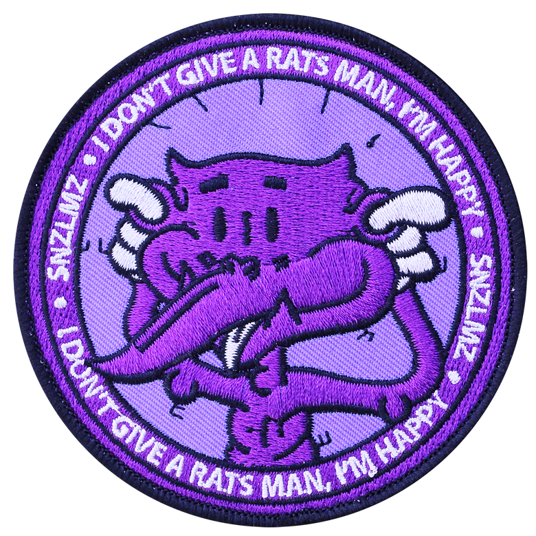 """Image of """"I Don't Give A Rats!"""" Patch"""