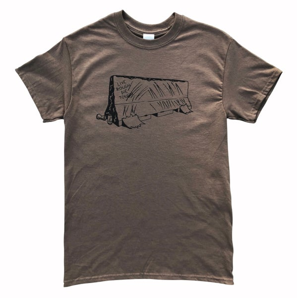 "Image of Brown Savanna ""BARRIER"" Tee"