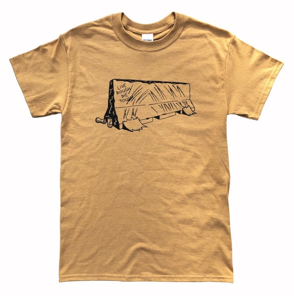 "Image of Old Gold ""BARRIER"" Tee"
