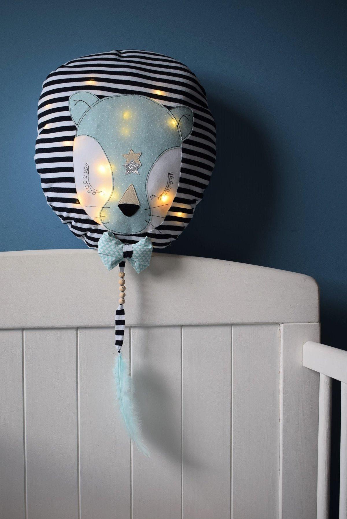 Image of LEON - Lion lumineux rayé