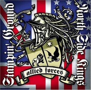 Image of Stampin' Ground vs North Side Kings - Allied Forces (Split) CD