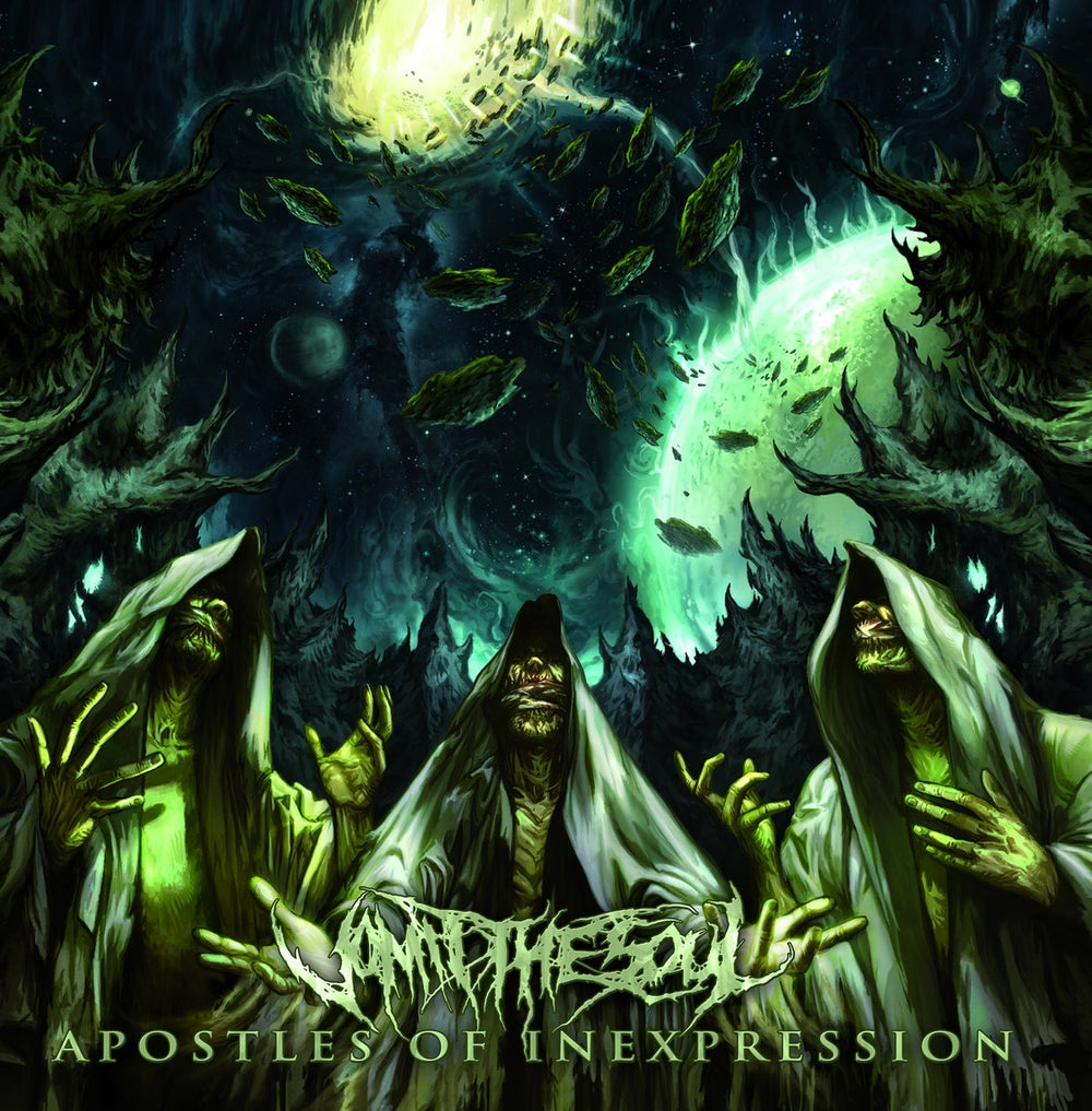 Image of Vomit The Soul - Apostles Of Inexpression CD