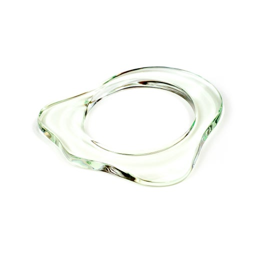 Image of GREEN TRANSPARENT BRACELET SEA TREASURES