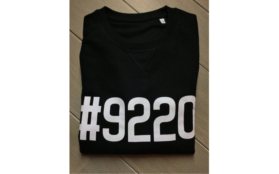 Image of #9220 SWEATER HEATHER BLACK (WOMEN)