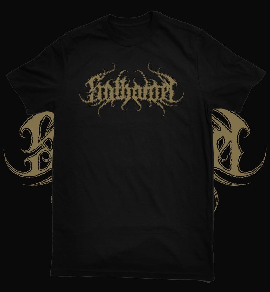 Image of Sathamel Gold Logo T shirt