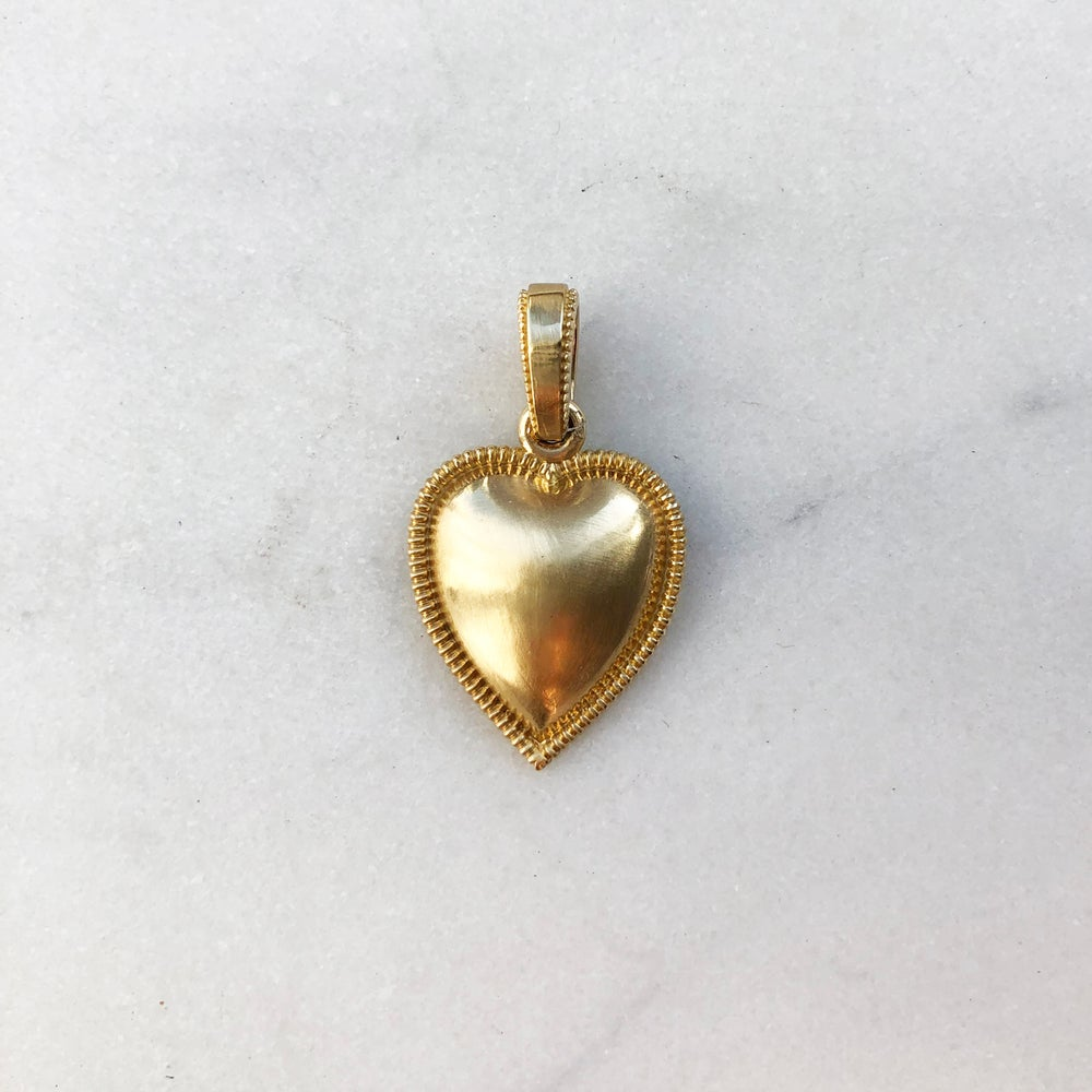 Image of Victorian Heart Pendant