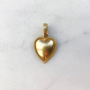 Image of Victorian Heart Pendant