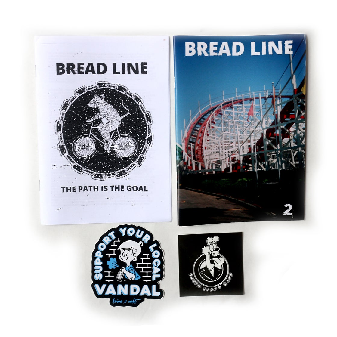 Image of BREAD LINE #1 & #2 - SOUTH COAST RATS