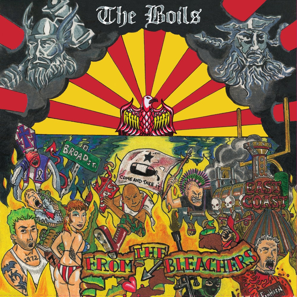 SFU116 - THE BOILS - From The Bleachers LP