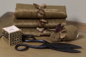 """Viscose for wee friends ~ Chocolate 9"""" x 14"""""""