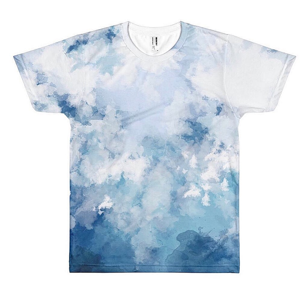 Image of Cloudy Waves T-Shirt