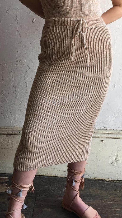 Image of Wol Hide Rib Skirt