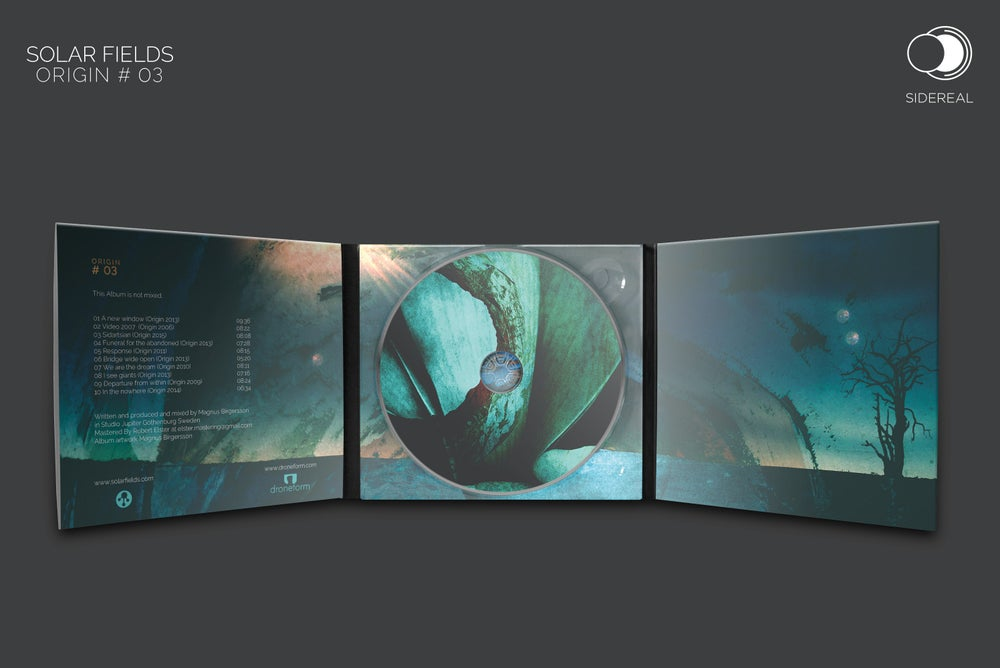 Image of Solar Fields 'Origin #03' digipack CD