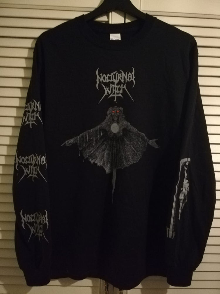 Image of Nocturnal Witch - s/t Longsleeve