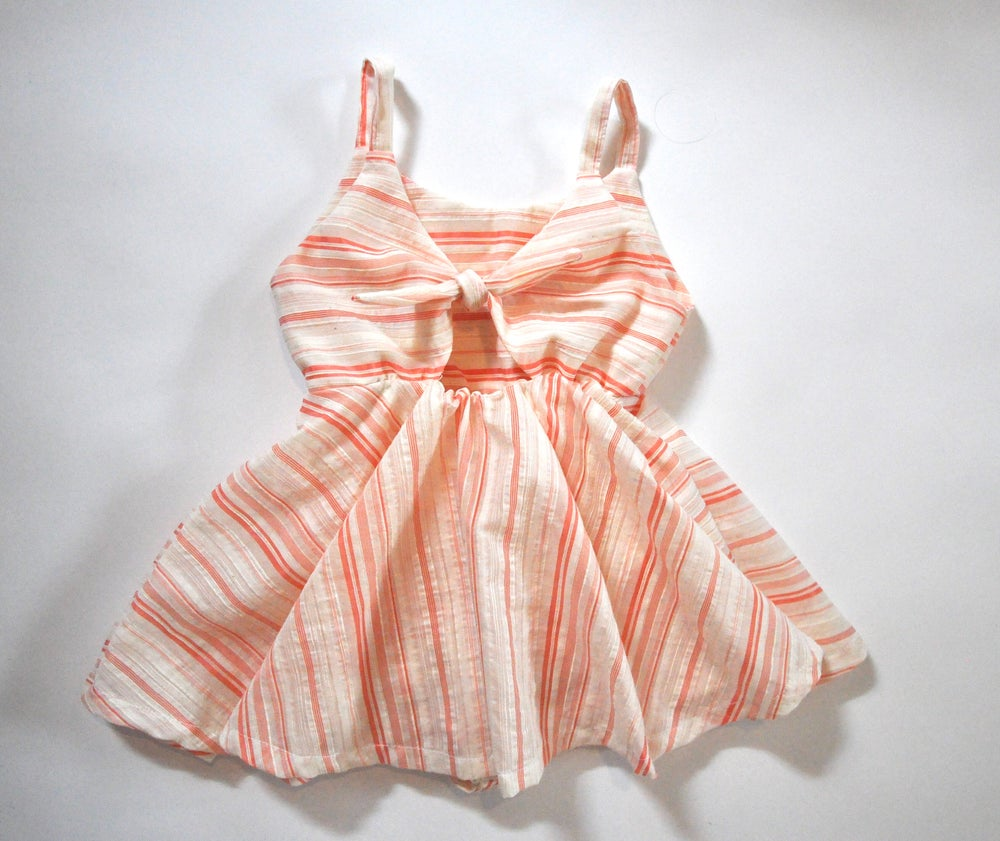 Image of Sorbet Stripe Sunday Dress