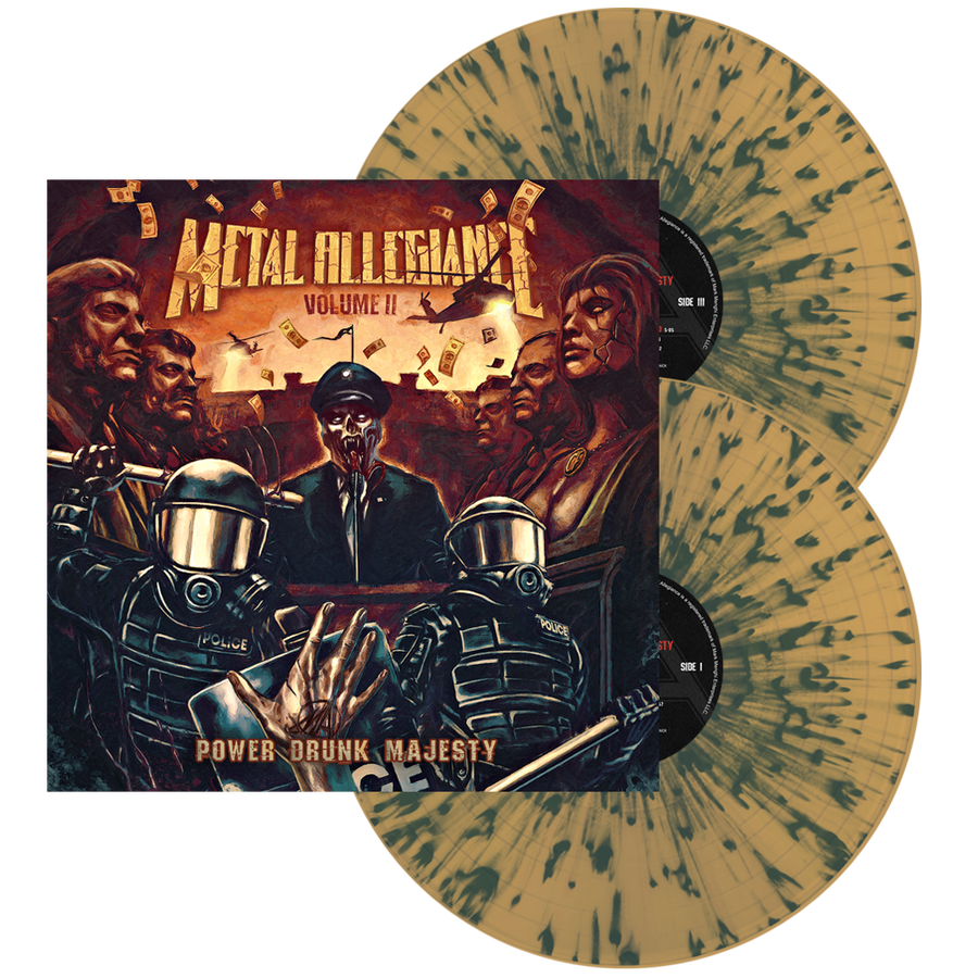 Image of Volume II: Power Drunk Majesty (Br/Blu Splatter) Double LP