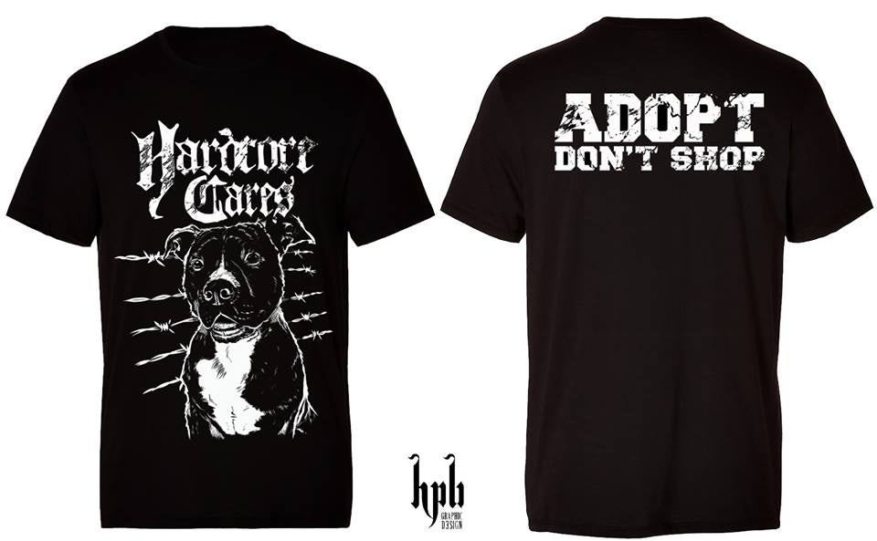 "Image of NEW! Tshirt ""ADOPT DON'T SHOP"""