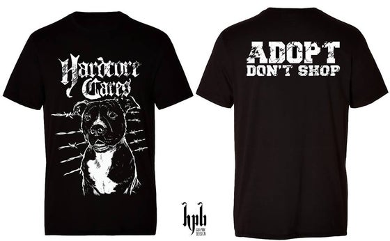 "Image of Tshirt ""ADOPT DON'T SHOP"""