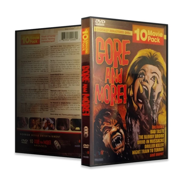 Image of  Gore and More! 10 Movie Pack (DVD)