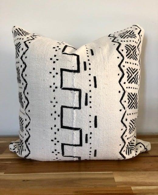 Image of Simon Mudcloth - Pillow Cover