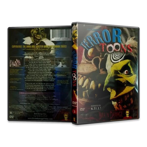 Image of Terror Toons (DVD)
