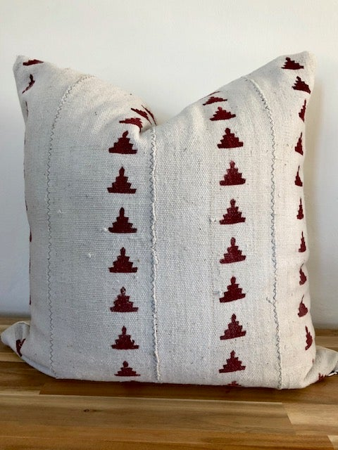 Image of Genevieve Mudcloth - Pillow Cover