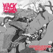 Image of Hack Job / Conqueror Worm Split 7""