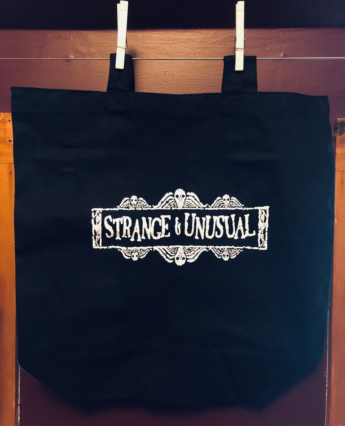 Image of Printed Canvas Totes