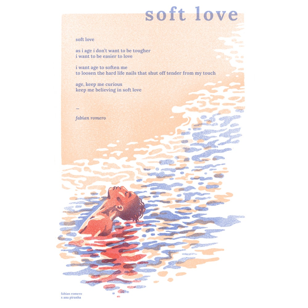 Image of Soft Love Poster