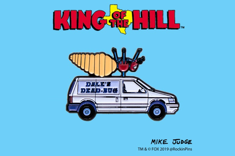 Image of King of the Hill - Dale's Dead Bug Van