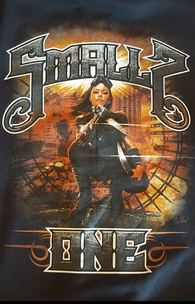 Image of SMALLZ ONE : World's End Zip Up Hoodie