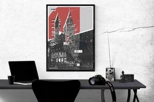 Image of Mainzmap Mainz Altstadt Plakat