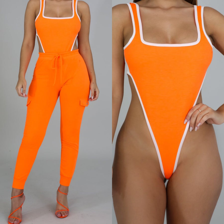 Image of Bodysuit jogger set