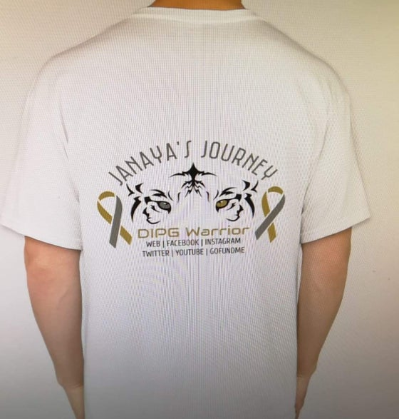 Image of Janaya's Journey T-Shirt -Men