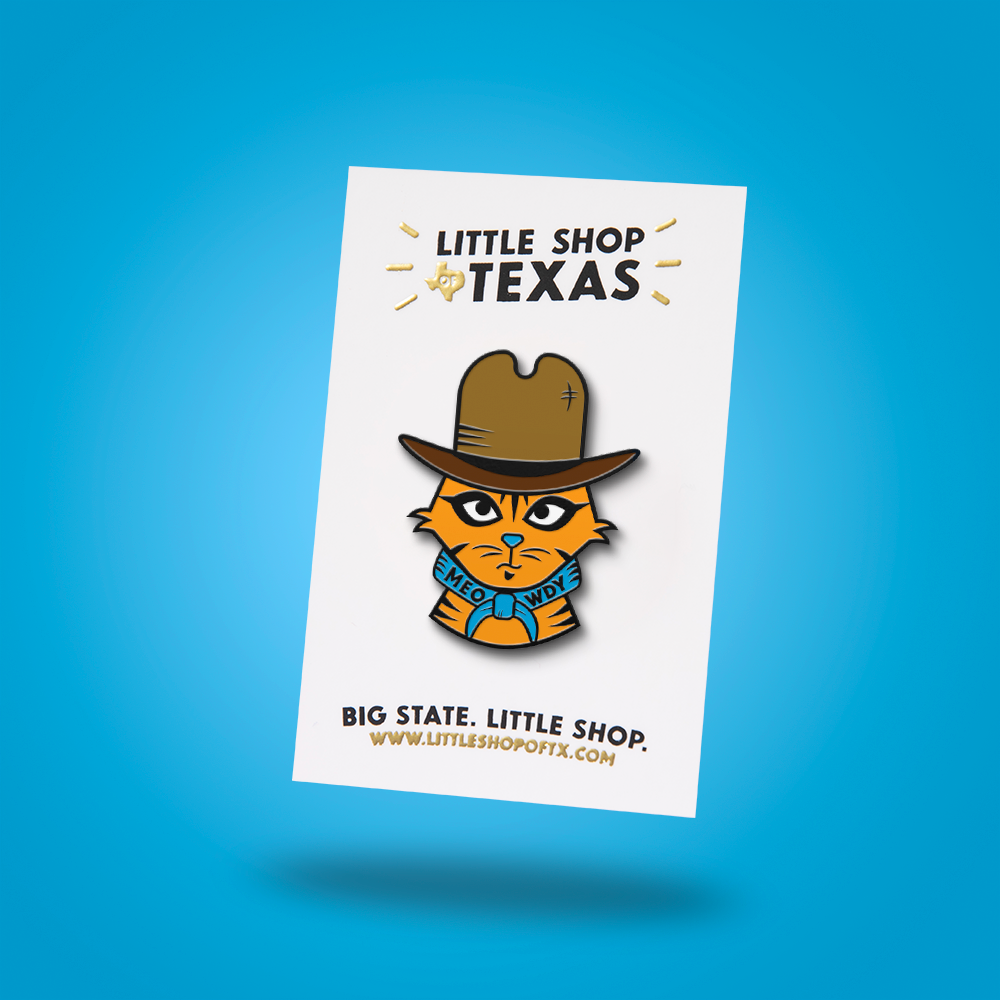 Image of Meowdy Enamel Pin