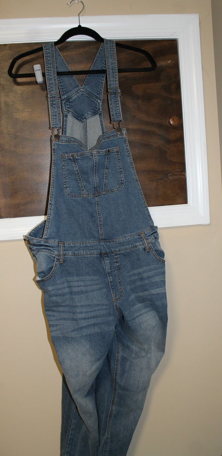 Image of Denim Overalls
