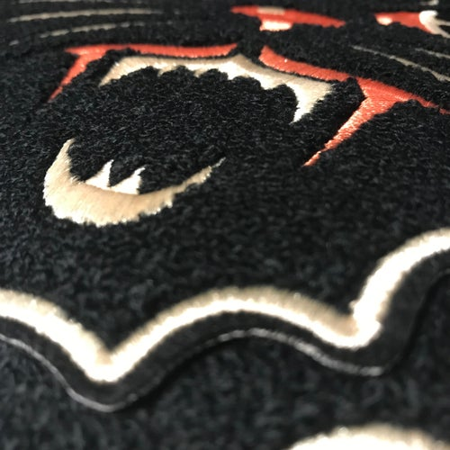 Image of Black Cat Back Patch