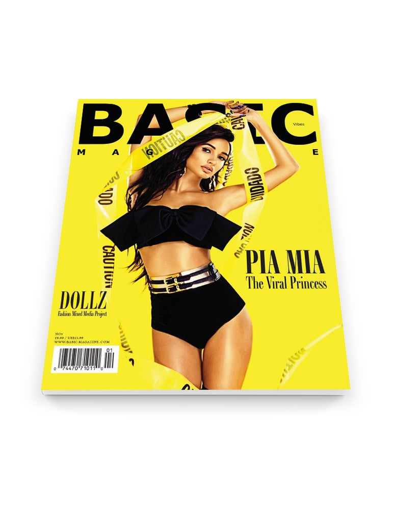 Image of BASIC PIA MIA Cover - Vibez Issue