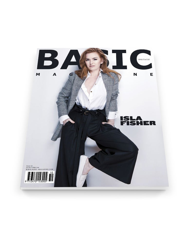 Image of BASIC   ISLA FISHER  Cover || SPECTACLE Issue 10