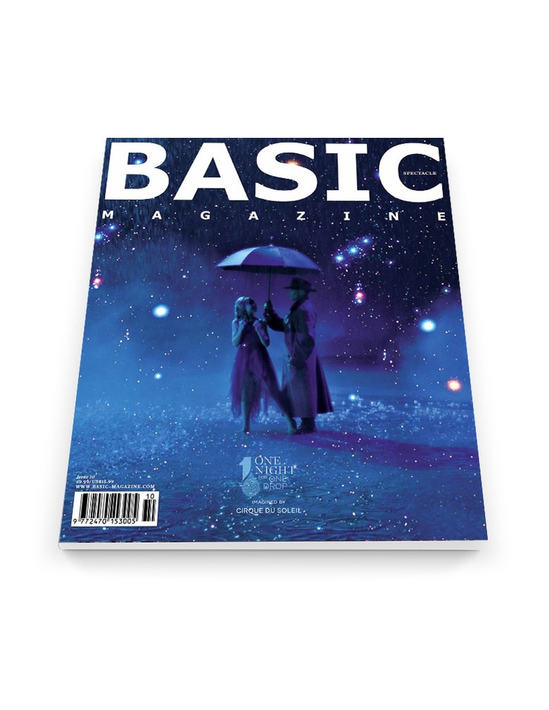Image of BASIC   CIRQUE DU SOLEIL Cover || SPECTACLE Issue